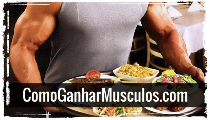 5 Alimentos Para Ganhar Músculos! Lista Essencial.