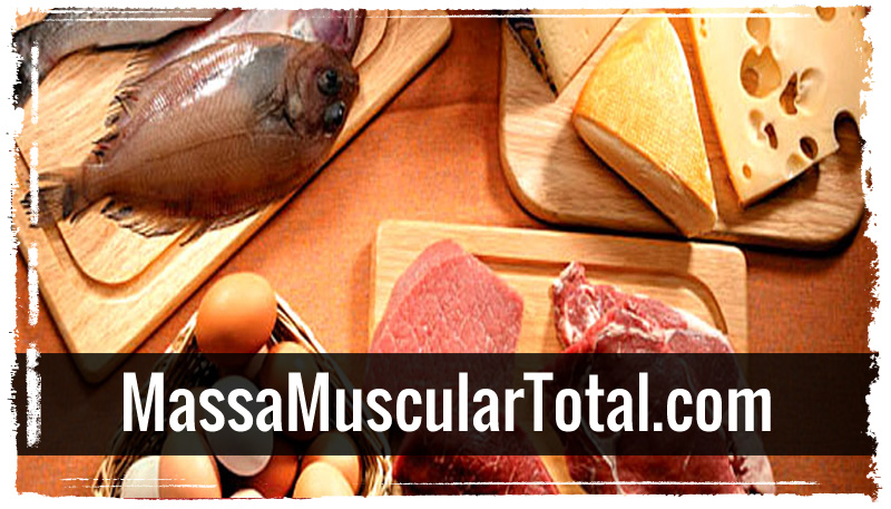 melhores alimentos para ganhar massa muscular