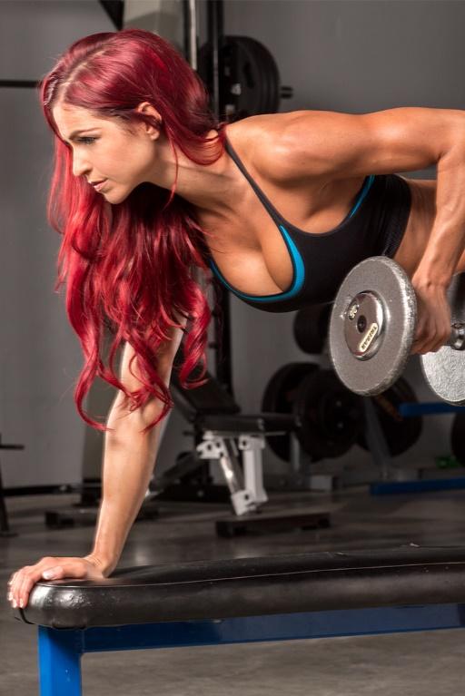 ganhar massa muscular exercícios